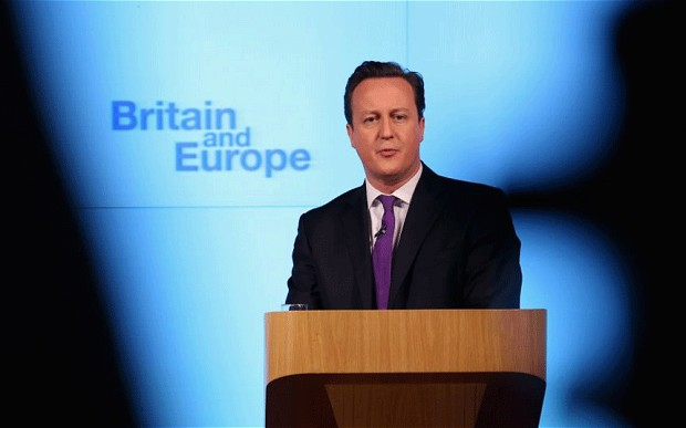 Wie David Cameron Europa angreift