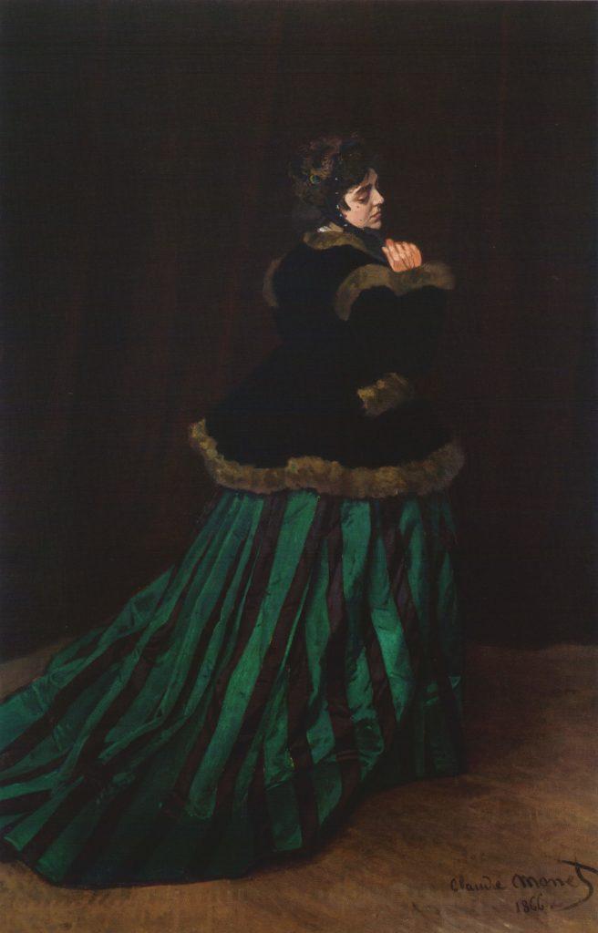 """Monet-Gedicht zu """"Camille"""" in der Kunsthalle Bremen"""