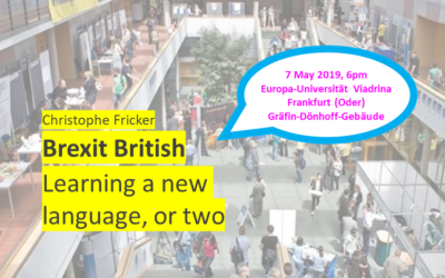Brexit Language Event at Viadrina