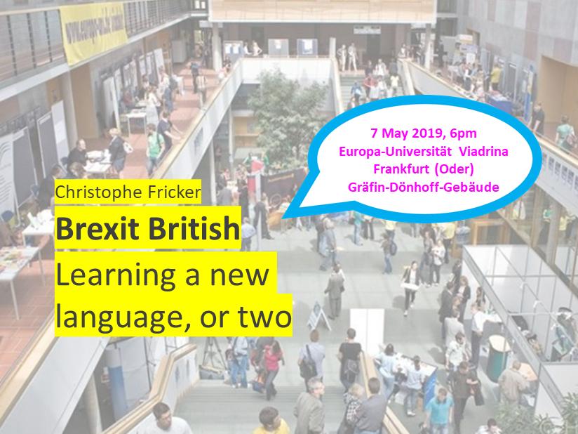 Language of Brexit