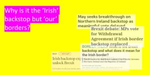 Irish Backstop Analysis