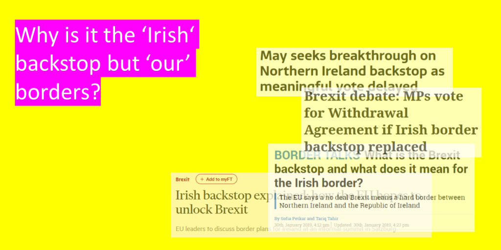 Irish Backstop Analysis