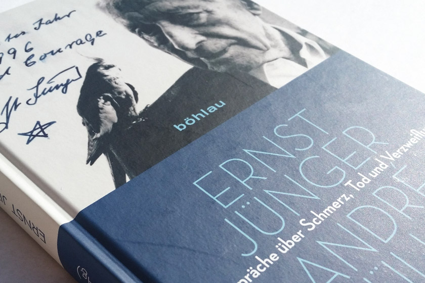 Ernst Jünger / André Müller: Gespräche über Schmerz, Tod und Verzweiflung
