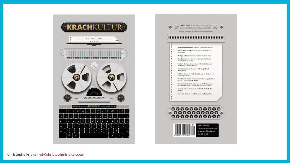 Verlagsprämie Bayern: Krachkultur ausgezeichnet