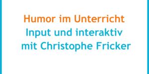 Interview: Humor und Pädagogik - what's a good prank?