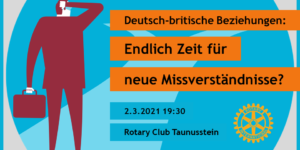 Vortrag: Deutsch-britische Beziehungen nach dem Brexit