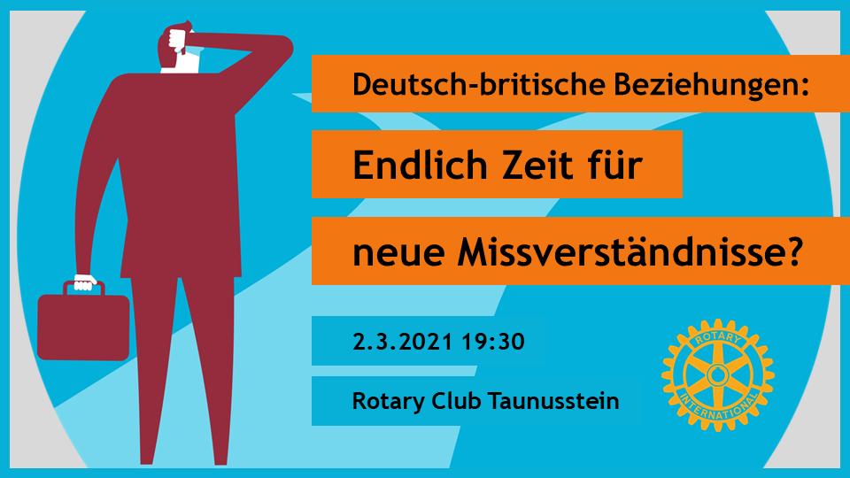 Deutsch-britische Beziehungen nach dem Brexit: Vortrag von Christophe Fricker
